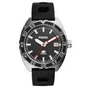 Relógio Masculino Fossil FS5053/8PN 46mm Silicone Preto