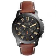 Relógio Masculino Fossil FS5241/0PN 44mm Couro Marrom