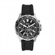 Relógio Masculino Fossil FS5624/8KN 44mm Silicone Preto