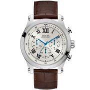 Relógio Masculino Guess 92700G0GSNC3 47mm Couro Marrom