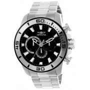 Relógio Masculino Invicta Pro Diver 22585 48mm Prata
