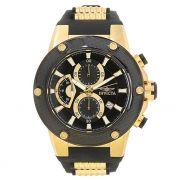 Relógio Masculino Invicta Speedway 22401 52mm Preto e Dourado