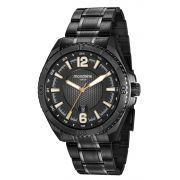 Relógio Masculino Mondaine 53696GPMVPS2 48mm Aço Preto