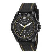 Relógio Masculino Mondaine 53707GPMVPI1 48mm Silicone Preto