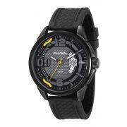 Relógio Masculino Mondaine 53742GPMVPI2 48mm Silicone Preto