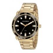 Relógio Masculino Mondaine 76760GPMVDE2 48mm Aço Dourado