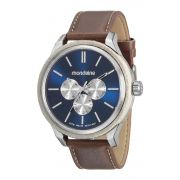 Relógio Masculino Mondaine 89008G0MVNH1 48mm Couro Marrom