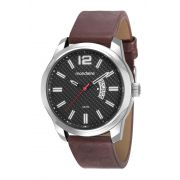 Relógio Masculino Mondaine 99274G0MVNH1 48mm Couro Marrom