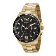 Relógio Masculino Mondaine 99283GPMVDS1 50mm Aço Dourado
