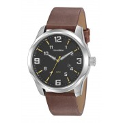 Relógio Masculino Mondaine 99401G0MVNH1 48mm Couro Marrom