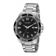 Relógio Masculino Mondaine 99500G0MVNA1 46mm Aço Prata