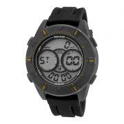 Relógio Masculino Mormaii Acqua MO150915AE/8Y 51mm Preto Pulseira Silicone