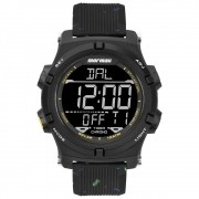 Relógio Masculino Mormaii Action MO1192AE/8P 48mm Silicone Preto