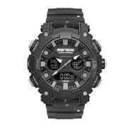 Relógio Masculino Mormaii Action MO12598AA/8P 53mm Silicone Reciclado Fumê