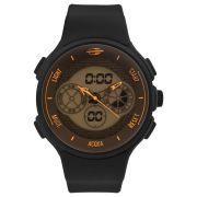 Relógio Masculino Mormaii Action MO160829AE/8L 48mm Silicone Preto