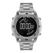 Relógio Masculino Mormaii MO11273C/1P 51mm Digital Aço Prata