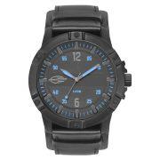 Relógio Masculino Mormaii MO2036IR/2A 50mm Couro Preto