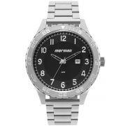 Relógio Masculino Mormaii MO2115BA/1P Pulseira Aço Prata