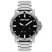 Relógio Masculino Mormaii MO2115BG/1P 53mm Aço Prata