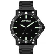Relógio Masculino Mormaii MO2115BH/4P 53mm Aço Preto