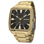 Relógio Masculino Mormaii MO2315AM/3P 47mm Dourado