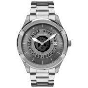 Relógio Masculino Mormaii  MO2415AD/1A 48mm Aço Prata