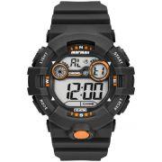 Relógio Masculino Mormaii MO3610AA/8L 53mm Borracha Preto