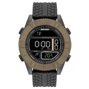 Relógio Masculino Mormaii MO5334AD/8P 51mm Silicone Preto