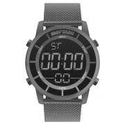 Relógio Masculino Mormaii MOBJ3463BA/4C 44mm Aço Grafite