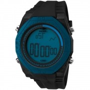 Relógio Masculino Mormaii Nautique Digital MO3374A/8A 51mm Silicone Preto