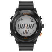 Relógio Masculino Mormaii Pro MO2035KD/8P 49mm Silicone Preto