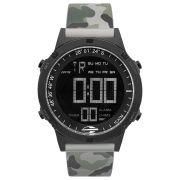 Relógio Masculino Mormaii Thunder MOW13901G/8C 46mm Silicone Camuflado Militar
