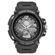 Relógio Masculino Mormaii Wave MOAD1101AB/8P 50mm Borracha Preto