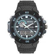 Relógio Masculino Mormaii Wave MOAD9450AB/8A 54mm Borracha Preta