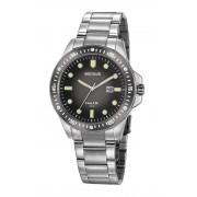 Relógio Masculino Seculus 20852G0SVNA3 45mm Aço Prata