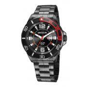 Relógio Masculino Seculus 23652GPSVPA2 48mm Aço Preto