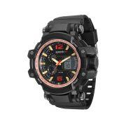 Relógio Masculino Speedo 81109G0EVNP3 55mm Borracha Preta