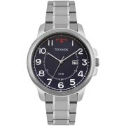 Relógio Masculino Technos 2115MOZ/1A 45mm Aço Prata
