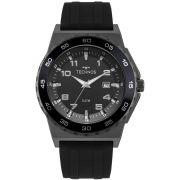 Relógio Masculino Technos 2115MQO/8P 46mm Silicone Preto