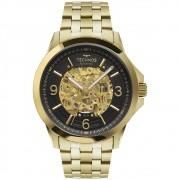 Relógio Masculino Technos  Automático 8N24AK/4P 47mm Aço Dourado