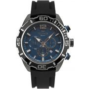 Relógio Masculino Technos Classic JS26AR/8A 52mm Silicone Preto
