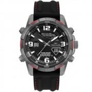 Relógio Masculino Technos Digiana W23305AC/2A 48mm Silicone Preto