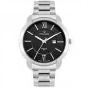 Relógio Masculino Technos Executive 2115MWZ/1P 45m Aço Prata