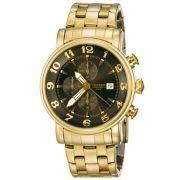 Relógio Masculino Technos GrandTech OS10CR/4D 44mm Aço Dourado