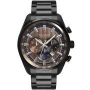 Relógio Masculino Technos GrandTech OS20HMJ/4M 47mm Aço Preto