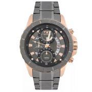 Relógio Masculino Technos JS15EL/4C Aço Grafite