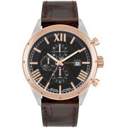 Relógio Masculino Technos JS15FU/0P 43mm Couro Marrom