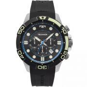 Relógio Masculino Technos JS25BQ/8P Silicone Preto