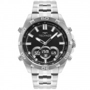 Relógio Masculino Technos Performance Digiana BJK629AB/1P 47mm Aço Prata