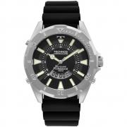Relógio Masculino Technos Performance Skydiver WT205FZ/2P 48mm Silicone Preto